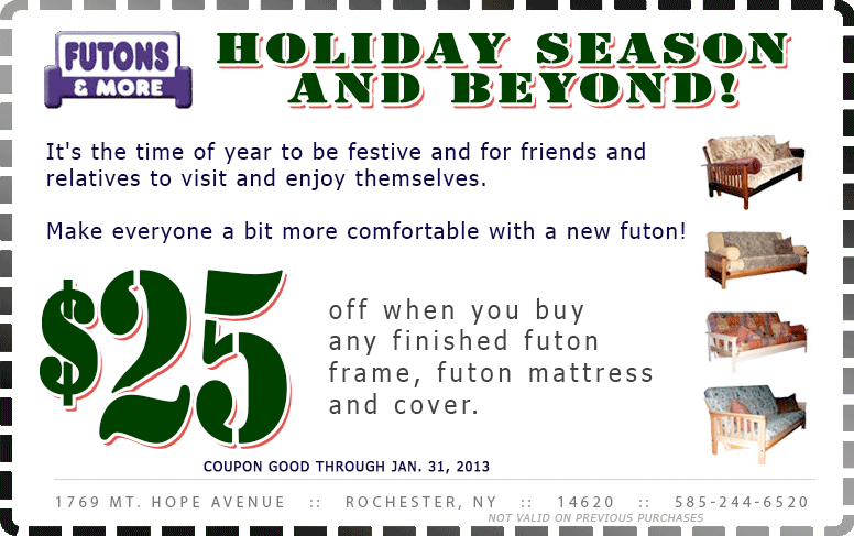 Shop 4 futons coupon code Mm coupons free shipping